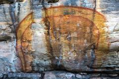 Kakadu National Park Aborigional rock painting ancient_