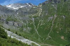 Saille (bulbocode909) Tags: valais suisse ovronnaz saille montagnes nature torrents arbres paysages vert bleu neige