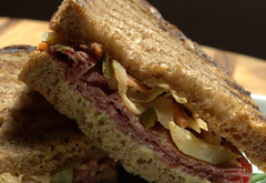 New York Deli Style Salt Beef on Rye (Tony Worrall Foto) Tags: add tag 2016tonyworrall images photos photograff things uk england food foodie grub eat eaten taste tasty cook cooked iatethis foodporn foodpictures picturesoffood dish dishes menu plate plated made ingrediants nice flavour foodophile x yummy make tasted meal sandwich butty bread