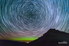 54 Minutes (kevin-palmer) Tags: auroraborealis northernlights geomagneticstorm night sky stars starry astronomy astrophotography color colorful green purple nikond750 tokina1628mmf28 startrails trailing north steamboatpoint highway14 wyoming summer august dark fence bighornmountains bighornnationalforest astrometrydotnet:id=nova1669872 astrometrydotnet:status=failed