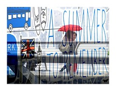 summer-postcard 3 (krinkel) Tags: summer sommer postcard london werbung billboard plakat umbrella schirm primark