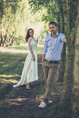 Zsani & Pisti (danieldioszegi) Tags: couple engagement vintage love wedding outdoor session nature green trees balloons men women man woman hungary derecske nikon 50mm d3200