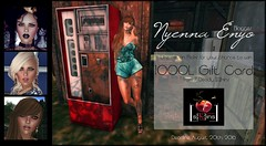 August 2016  give away (Nyenna.E) Tags: 7deadlyskins giveaway win prize secondlife