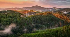 Bohemian Switzerland (filip.molcan) Tags: landscape forest nature ceskesvycarsko bohemianswitzerland europe view morning fog fairytale instagram instamood instadaily photooftheday traveling storm