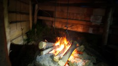 Foc in vatra la refugiul Ursu