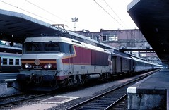 15012  Mulhouse  04.08.86 (w. + h. brutzer) Tags: mulhouse eisenbahn eisenbahnen train trains frankreich france railway elok eloks lokomotive locomotive zug 15000 sncf webru analog nikon