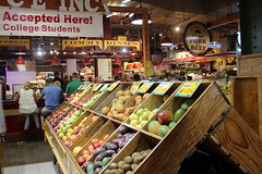 Philadelphia - Reading Terminal Market (wallyg) Tags: centercity dinics dinicsroastpork fruitstand market marketeast okproduce pennsylvania philadelphia readingterminal readingterminalmarket tommydinics tommydinicsroastpork