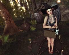 Good witch Bad witch (everestgossipgirl) Tags: enchantment rezology nc arise kc bauhaus movement the pose shop