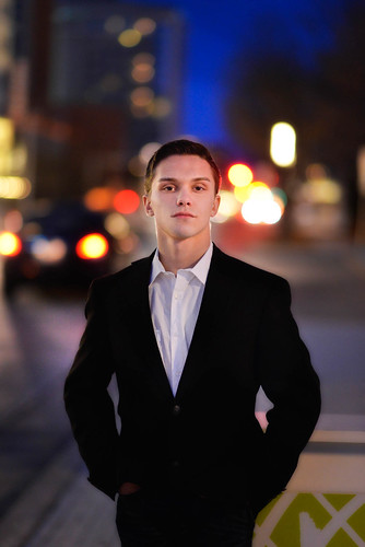 Senior Portrait in Downtown Oklahoma City