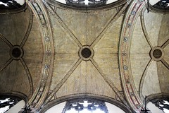 Vaulted (marensr) Tags: vaulted ceiling rockefeller memorial chapel uchicago university chicago gothic architecture inlay inlaid brickwork