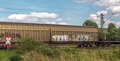 2016_2016_07_09_Haunetal_Unterhaun_MRCE_DISPO_6193_613_mit_gem_Gterzug_Bad_Hersfeld (ruhrpott.sprinter) Tags: ruhrpott sprinter geutschland germany nrw ruhrgebiet gelsenkirchen lokomotive locomotives eisenbahn railroad zug train rail reisezug passenger gter cargo freight fret diesel ellok hessen haunetal unterhaun akiem db cancantus ctl dispo eloc meg mrcedispolok rurtalbahn vtlt ermewa uacns 151 155 186 189 193 1263 es64f4 ice cocoon alien outdoor logo natur graffiti