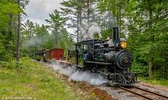 Cockeye Curve (kdmadore) Tags: wwf wiscassetwatervillefarmington wiscasset alna steamlocomotive railroad narrowgauge maine2foot wwfry train