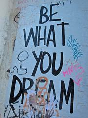 Be What You Dream, New York, NY (Robby Virus) Tags: newyork newyorkcity nyc ny manhattan city bigapple be what you dream paste wheatpaste pasted street art