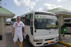 Ryan Janek Wolowski arriving at Marigot taxi terminal in Collectivité de Saint-Martin France French side of the island of Saint Martin FWI French West Indies (RYANISLAND) Tags: france french saintmartin stmartin saint st collectivity martin collectivityofsaintmartin collectivité collectivitédesaintmartin marigot frenchcaribbean frenchwestindies thecaribbean caribbean caribbeanisland caribbeanislands island islands leewardislands leewardisland westindies indies lesserantilles antilles caribbees