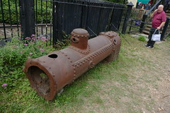 A long way from home (Elsie esq.) Tags: boiler fawley museum railway rhdr steam