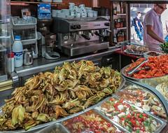 Boatella Tapas Bar ( High ISO) Valencia (Canon PowerShot G1X) (1 of 1) (markdbaynham) Tags: valencia valencian spain spainish es city metropolis street urban canon canonites canonite g1x powershot high iso tapas boatella food