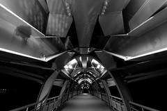 Structure (HCC1985) Tags: fuji xt10 bw taiwan bridge night dark