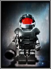 ROM (LegoKlyph) Tags: lego custom minifigure rom spaceknight marvel parkerbrothers cyborg retro comicbook gotg