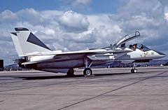 F-14A Tomcat 158979 of VF-1 NK-100 (JimLeslie33) Tags: 158979 f14 f14a vf1 nas miramar keith ferris nk100 naval aviation usn navy fighter nk olympus om1 tomcat grumman fightertown uss enterprise