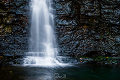 Fall at Fall (Capture Lights) Tags: abstract blur clumbus fall fujifilm ohio rock silky water white