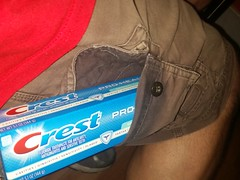 Pro Tube Carrying Cargo Shorts (cbb4104) Tags: cargoshorts protube cresttoothpaste toothpaste