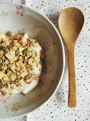 Breakfast Muesli with Yoghurt (eeemmmiii) Tags: breakfast muesli yoghurt