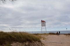 The beach (soumit) Tags: bigsablepoint 2015 beach lighthouse ludington michigan november thanksgiving freesoil unitedstates