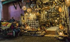 Lamp Souk (krllx) Tags: africa marokko marrakech city lamps lights menneske morocco people souk street streetphotography streetphoto dsc00744201602281