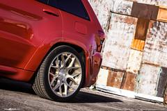 jeep-grand-cherokee-srt-m590-brushed-champagne-2 (AvantGardeWheels) Tags: jeep ag wheels avant garde agwheels suv lowered fitment offset grand cherokee srt brushed champagne 21inch m590 avantgarde agwheel wheel rim rims design designs custom bespoke finish finishing