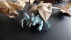 Hermit Crab Satoshi kamiya (javier vivanco origami) Tags: hermit satoshi kamiya crab origami ica peru javier vivanco