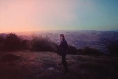 Childhood Hills (Maya Beano) Tags: kodak portra girl portrait film 35mm