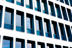 Abstract (Jean-Adrien Morandeau) Tags: rennes bretagne abstrait abstract building sky blue ciel bleu windows office