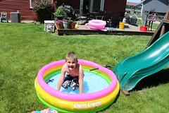 1E7A5463 (anjanettew) Tags: swimming diving kids pool summer fun twins sillykids splashing babypool
