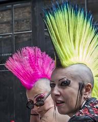 HC9Q9142 (rodwey2004) Tags: punks mohawk mohican streetphotography camden thestablesmarket