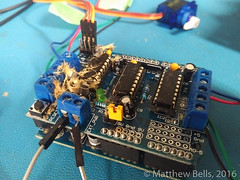 IMG_20160823_2126413 (mbells) Tags: 3dprint arduino drawbot kwartzlab makelangelo makerexpo lasercut make maker motor robot steppermotor