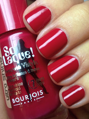 rouge fashionista, bourjois (nails@mands) Tags: red nagellack polish vermelho nails nailpolish mands lacquer vernis esmalte smalto bourjois naillacquer verniz rougefashionista