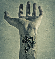 Invisible hand (futhark) Tags: shadow adam texture textura canon dark ma high mood hand dynamic market invisible surrealism creative dramatic surreal atmosphere gear ground smith ps textures mano