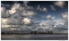 April Sky 1 (Brian Gort Wildlife Photography) Tags: sky station ferry island warrington power ngc april fiddlers runcorn widnes wigg