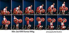 Kim Min-jae KOR 94kg (Rob Macklem) Tags: kim korea olympic weightlifting minjae
