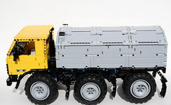 ZIL 132 (thirdwigg) Tags: truck lego russia m technic zil xl trial legotechnic powerfunctions trialtruck thirdwigg thirdwig zil132
