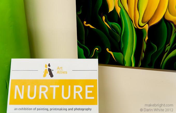 Art Allies - Nurture show at The Button Factory 005