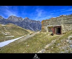 Avant poste des Fourches (Alexis.D) Tags: france alpes de la poste des bunker ww2 col avant italie beton maritimes casemate maginot fourches bonnette