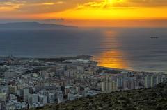 Sunset in Trapani (Fil.ippo) Tags: travel sunset sea water nikon tramonto mare sicily viaggi hdr filippo sicilia trapani d7000 filippobianchi