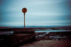 Crammond Beach (ChrisJohnston82) Tags: uk longexposure blue sky seascape beach water canon landscape eos scotland sand edinburgh fife scottish forth canoneos firthofforth crammond 400d eos400d canoneos400d canon400d crammondbeach
