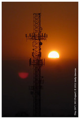 Day 147, 2012 / 365 Project (Gaviotita) Tags: sunset sun atardecer lumix puestadesol 365project