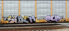 Siber Oup (GraffStoleMyLife) Tags: train graffiti tag piece freight oup siber