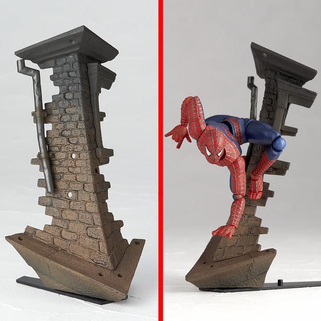 海洋堂 - 特撮リボルテック:蜘蛛人