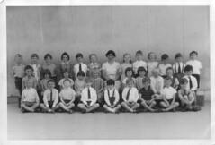 my class at St.Swithun's CofE Primary School, Kennington, Oxford, July 1966 (Jay Tilston) Tags: school 1966 ox