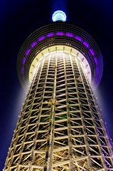 Tokyo Skytree (Matthias Harbers) Tags: light sky tower japan architecture night tokyo design tv nikon illumination labs dxo hdr tvtower topaz 3xp photomatix yabbadabbadoo d7000 nikonflickraward tokyoskytree afsnikkor70200mmf28gedvrii