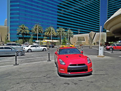 Las Vegas: Teaser (Hertj94 Photography) Tags: las vegas red white black public june japanese hotel nikon nissan nevada ghost grand exotic british rolls spotted mgm royce 2012 combo gtr worldcars s8200